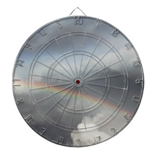 rainbow in the sky dartboard