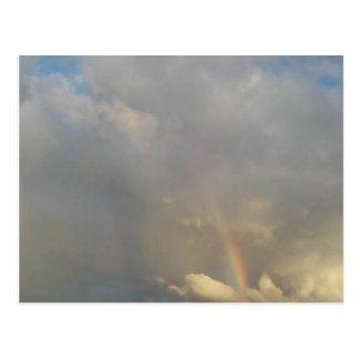 Rainbow in the sky Postcard