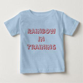 Rainbow In Training Baby T-Shirt