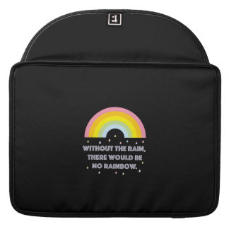 Rainbow Inspirational and Motivational Quote Sleeve For MacBooks