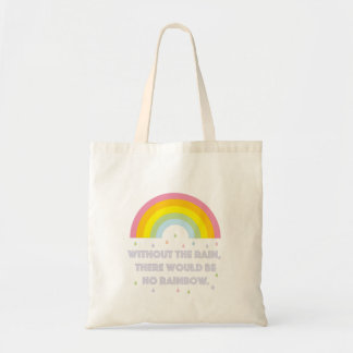 Rainbow Inspirational and Motivational Quote Tote Bag