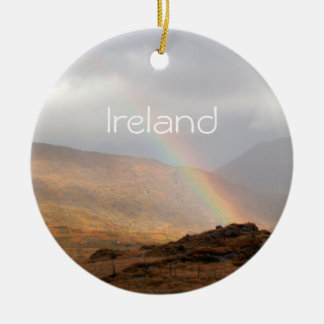 Rainbow Ireland Christmas Ornament