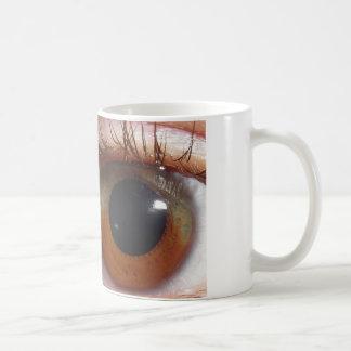 Rainbow Iris Basic White Mug