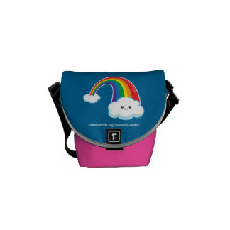 Rainbow is My Favorite Color Messenger Bags