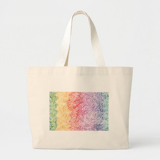 Rainbow Iterations Canvas Bags