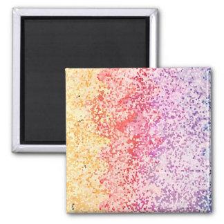 Rainbow Iterations Fridge Magnet
