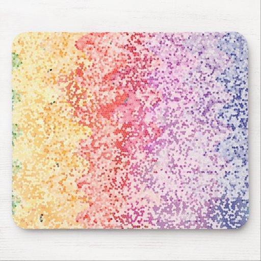 Rainbow Iterations Mousepad