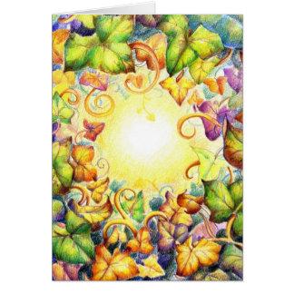 Rainbow Ivy Eye Card