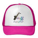 Rainbow Jazz Saxophone Music Hat