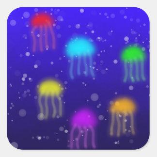 Rainbow Jellyfish Sticker