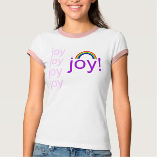 rainbow, joy, joy, joy, joy, joy! T-Shirt