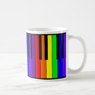 Rainbow Keyboard Coffee Mug