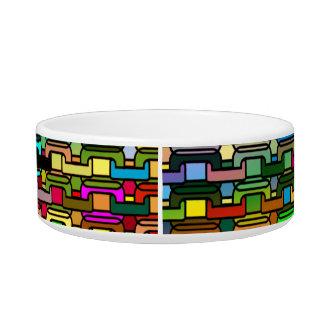 Rainbow Kibbles Pet Water Bowls