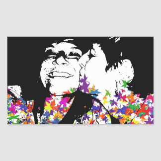 Rainbow kisses sticker
