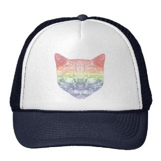 Rainbow Kitty Cap