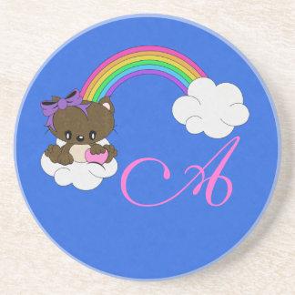 Rainbow Kitty Drink Coasters