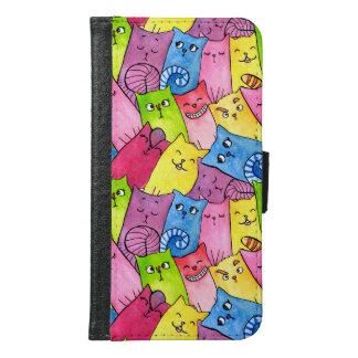 Rainbow Kitty (Galaxy S6 Wallet Case)