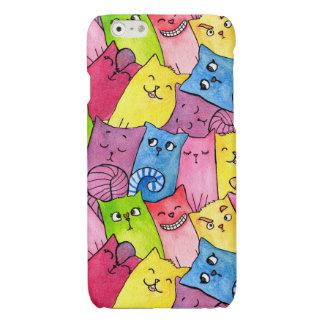 Rainbow Kitty (iPhone 6/6s Glossy Finish Case) iPhone 6 Plus Case
