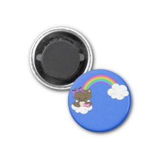 Rainbow Kitty Magnet