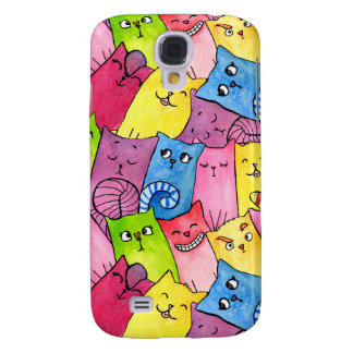 Rainbow Kitty Samsung Galaxy S4, Phone Case
