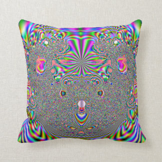 Rainbow Koala Bear Fractal Print Cushion