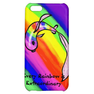 Rainbow Koi iPhone 5C Cases