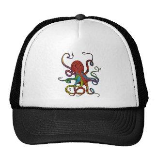 Rainbow Kraken ! Cap
