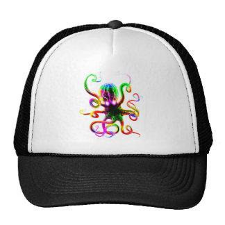 Rainbow Kraken Glow Cap