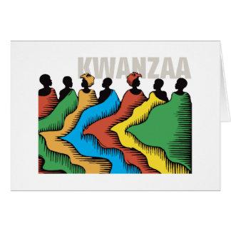 Rainbow Kwanzaa Holiday Notecards Card