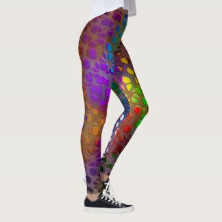 Rainbow Lace Leggings