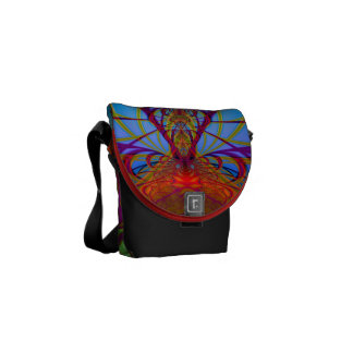 Rainbow Lace Commuter Bags