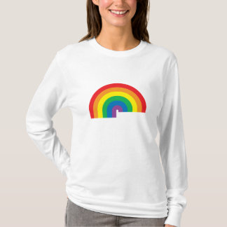 Rainbow Ladies Long Sleeve T-Shirt