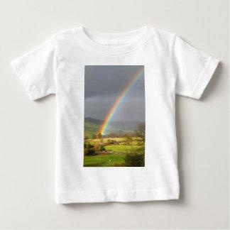 Rainbow landscape baby T-Shirt