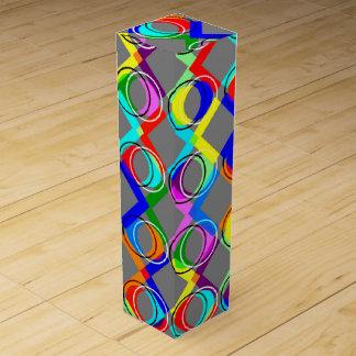 Rainbow Lattice and Circles Wine Box