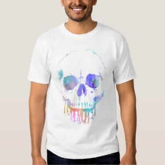 Rainbow leaky skull t shirts