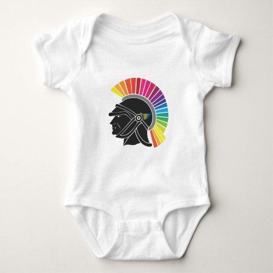 Rainbow Legionary Baby Bodysuit