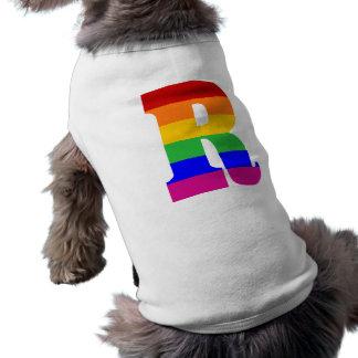Rainbow Letter R Shirt