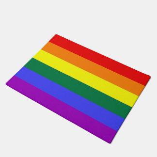 Rainbow LGBT Gay Pride Doormat
