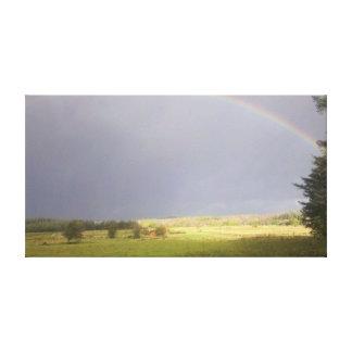 Rainbow Light Canvas Print