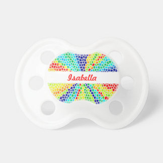 Rainbow Light Mosaic Monogram Dummy
