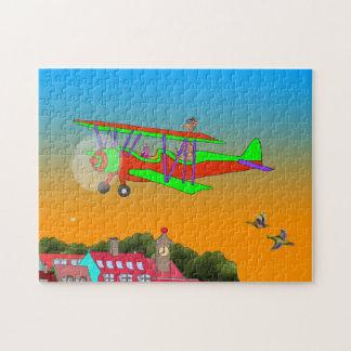 Rainbow & Lila Flying Jigsaw Puzzle