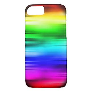 Rainbow lines phone case - horizontal