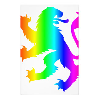 Rainbow Lion Stationery Paper
