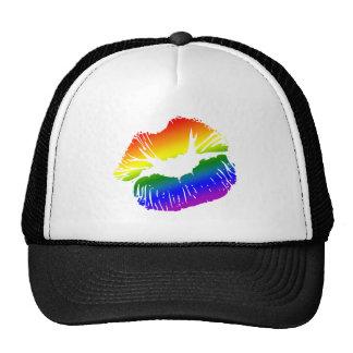 Rainbow Lips 1 Cap