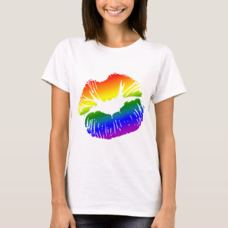 Rainbow Lips 1 T-Shirt