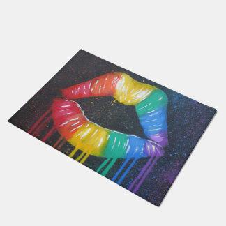 Rainbow Doormats Amp Welcome Mats Zazzle Co Uk