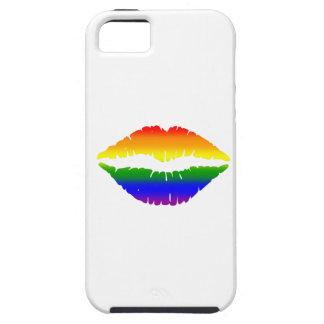 Rainbow Lips Kiss iPhone 5 Covers