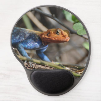 Rainbow Lizard Mouse Pad Gel Mouse Mats
