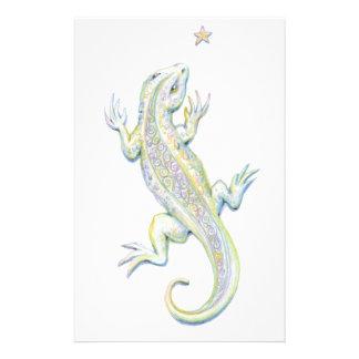 Rainbow Lizard Stationery