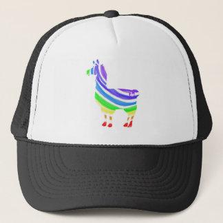 Rainbow Llama Cap